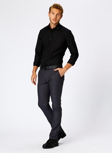 Cotton Bar Gömlek Siyah